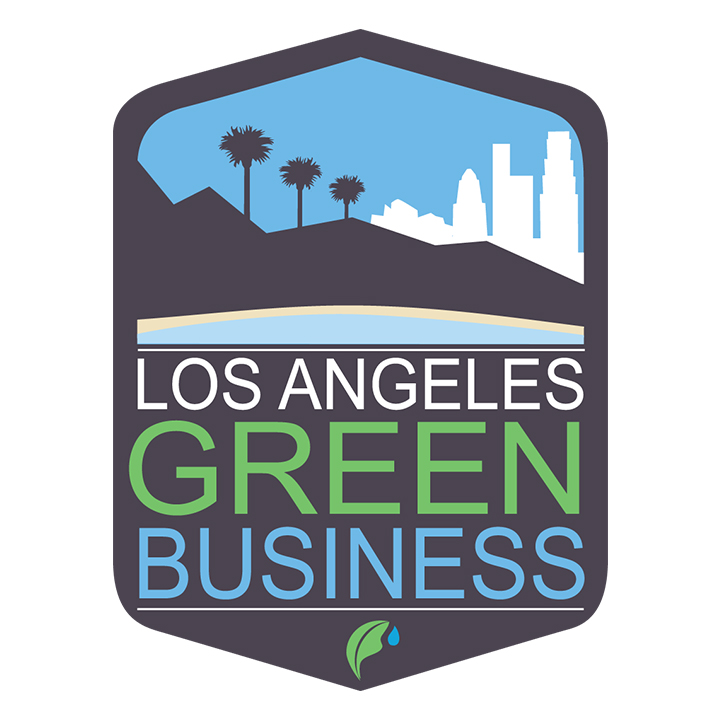 los angeles green business logo