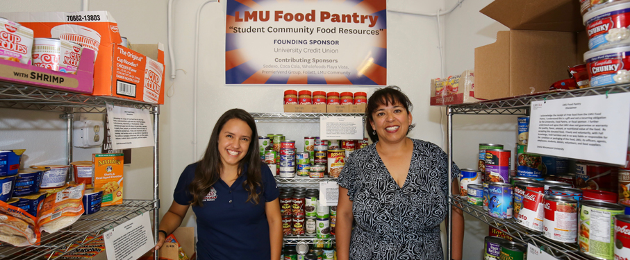 lmu csa about campus food pantry banner