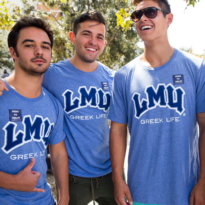 lmu greek life fraternities