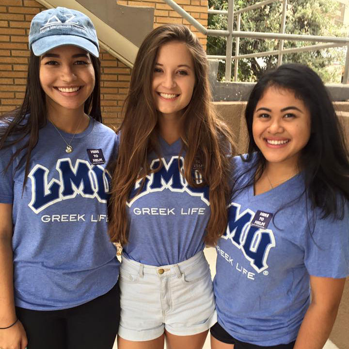 lmu greek life sororities